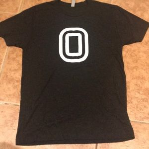 """Next Level """"O"""" Men's Tee Shirt.  Medium"""